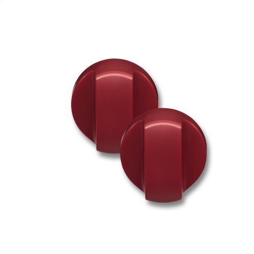4 Slice Toaster Knobs - Red