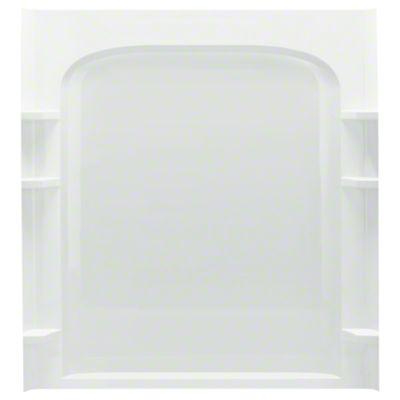 "Ensemble™ 60, Series 7223, 60"" x 72-1/2"" Curve Alcove Shower - Back Wall - White"