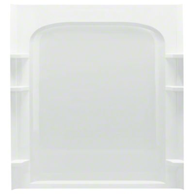 "Ensemble™ 60, Series 7223, 60"" x 72-1/2"" Curve Alcove Shower - Back Wall - White"
