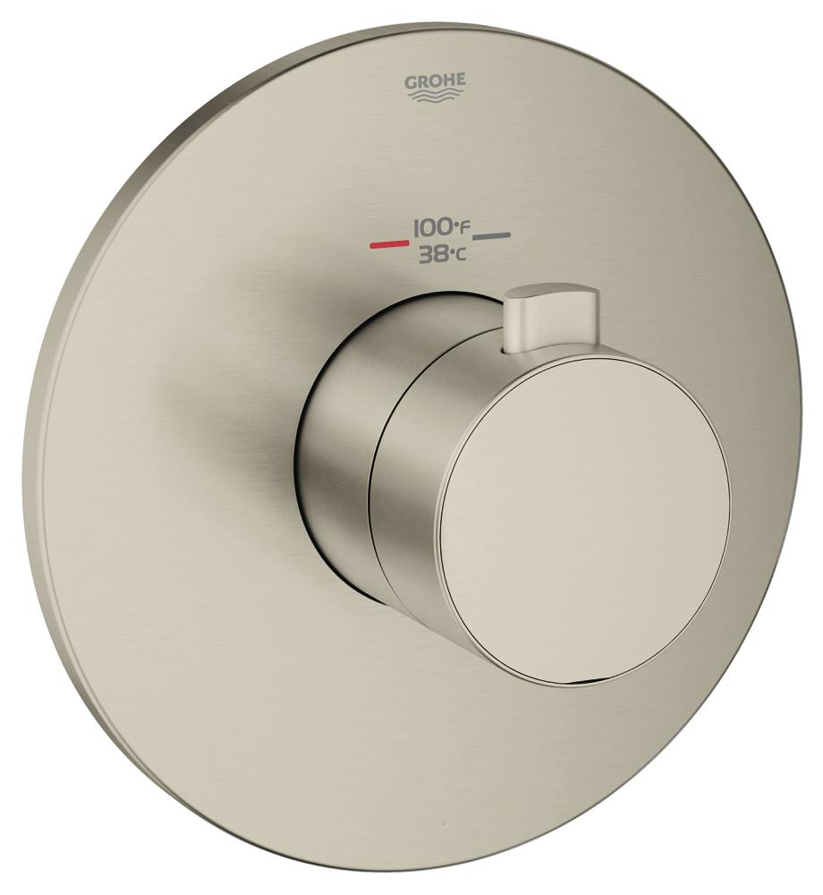 Europlus Custom Shower Thermostatic Trim with Control Module