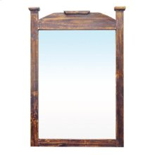 New Medium Wax Mirror