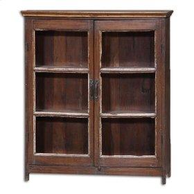 Katmandu 2 Door Glass Cabinet