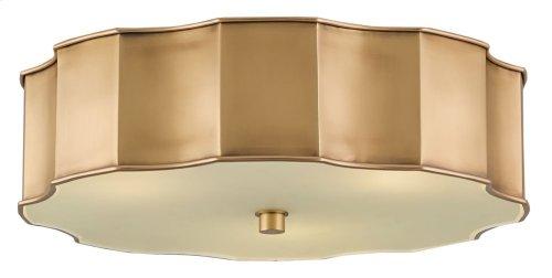 Wexford Brass Flush Mount