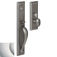 Polished Nickel with Lifetime Finish Cody Full Escutcheon Trim