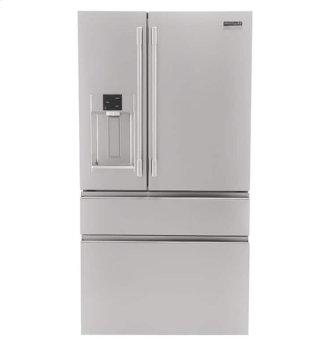 Frigidaire Professional 21.8 Cu. Ft. Counter-Depth 4-Door French Door Refrigerator