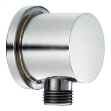 Chrome Round Supply Elbow