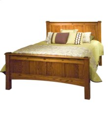 Prairie Home Queen Bed with high footboard