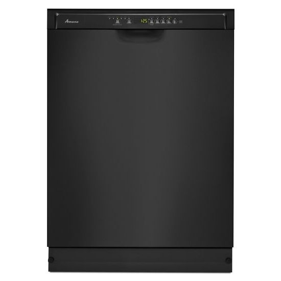 Adb1700adbamana Dishwasher With Stainless Steel Interior Black Black Westco Home Furnishings