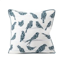 TY Bluebird Bird Pillow 18 x 18