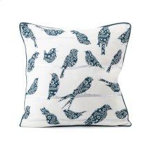 TY Bluebird Bird Pillow 18 x 18