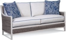 Outdoor Two Cushion Sofa