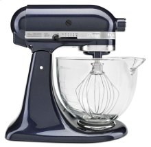 Artisan® Design Series 5 Quart Tilt-Head Stand Mixer with Glass Bowl - Blueberry