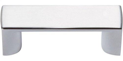 Tableau Squared Handle 1 7/16 Inch - Polished Chrome