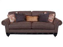 Burgundy Sofa