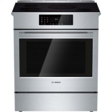 "CLOSEOUT - 30"" Induction Slide-in Range Benchmark Series - Stainless Steel"