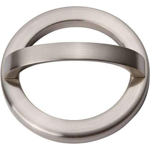 Tableau Round Base and Top 2 1/2 Inch - Brushed Nickel