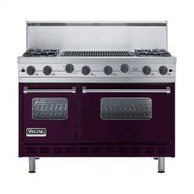 "Plum 48"" Sealed Burner Range - VGIC (48"" wide, four burners 24"" wide char-grill)"