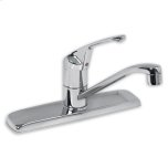 American StandardColony 1-Handle Kitchen Faucet with Side Spray - Polished Chrome