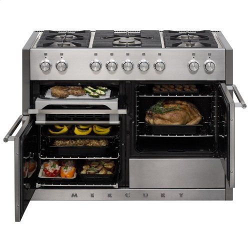 Scarlet (while supplies last) AGA Mercury Dual Fuel Range  AGA Ranges