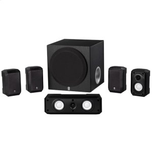YamahaNS-SP1800 Black 5.1-Channel entry class speaker package