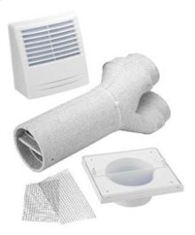 Tandem Transition Kit (Tandem Y, complete exterior vent, screws)