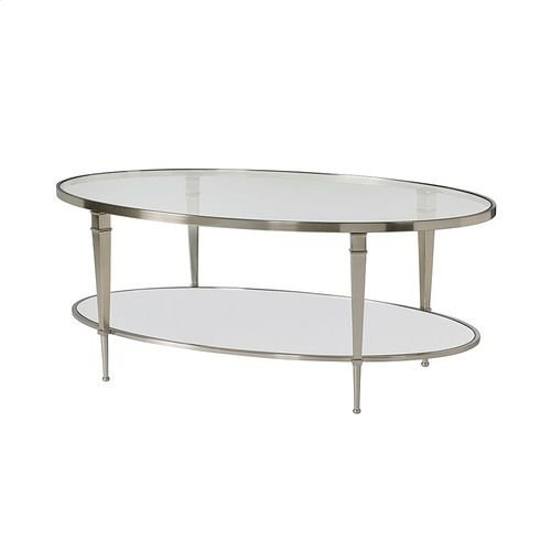 Mallory Oval Cocktail Table