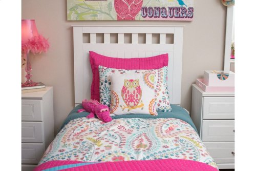 Twin-Size Panel Bed