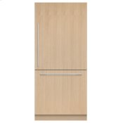 "Integrated Refrigerator Freezer, 36"", Ice"