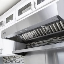 "36"" Wide 12"" High Wall Hood + Ventilator"