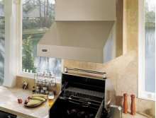 "48"" Wide, 18"" High Outdoor Hood - VWH (for use with 41"" wide gas grills)"