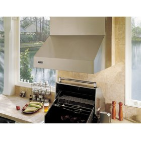 """48"""" Wide, 18"""" High Outdoor Hood - VWH (for use with 41"""" wide gas grills)"""