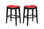 """Emerald Home Briar 30"""" Bar Stool Traditional Red D107-30-02 Product Image"""
