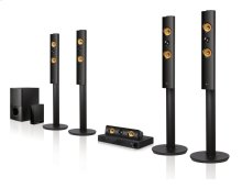 3D-Capable 5.1 Ch Blu-ray Disc Home Theater System with Smart TV