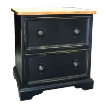 Two-Drawer Nightstand