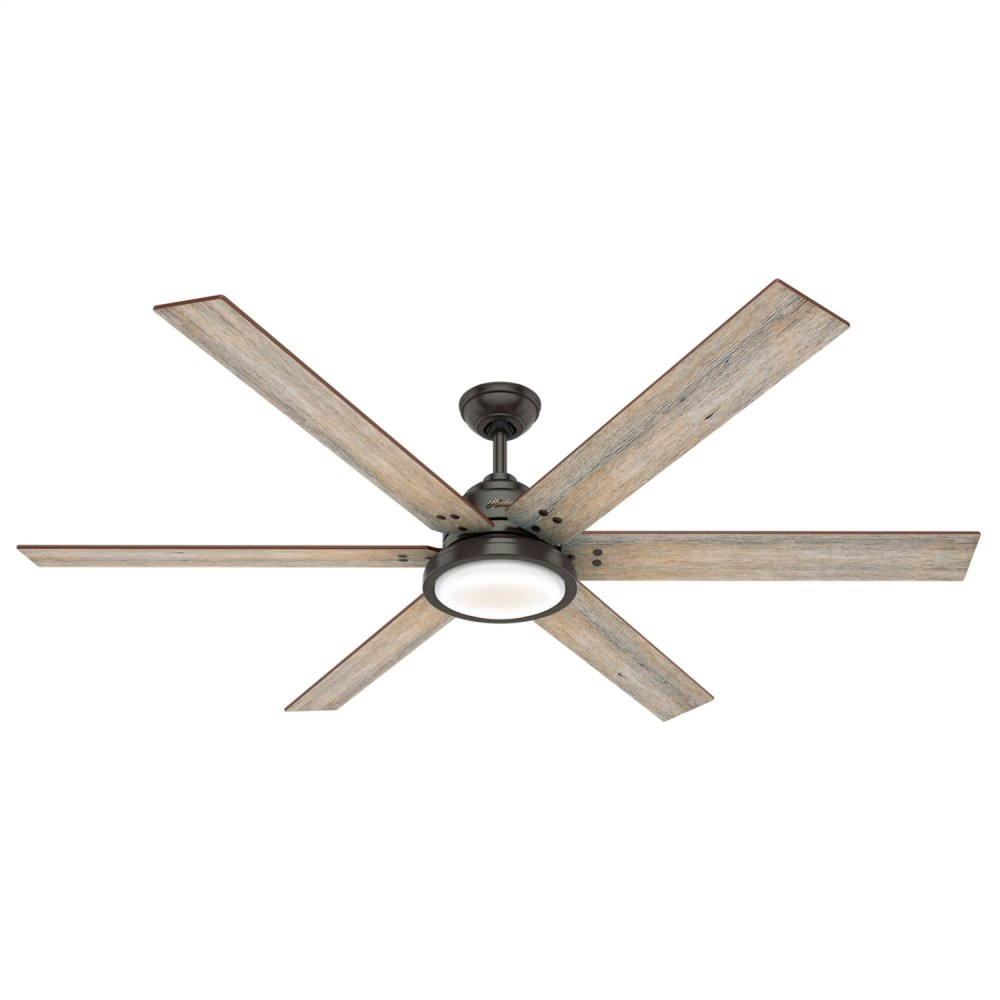 Warrant with LED Light 70 inch Ceiling Fan  NOBLE BRONZE