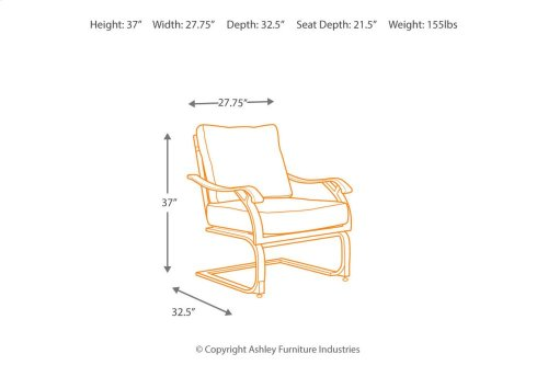 Spring Lounge Chair (4/CN)