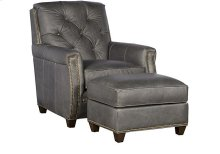 Wyatt Leather Chair, Wyatt Leather Ottoman