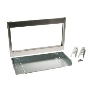 "MonogramGE® Optional 27"" Built-In Trim Kit JX827SFSS"
