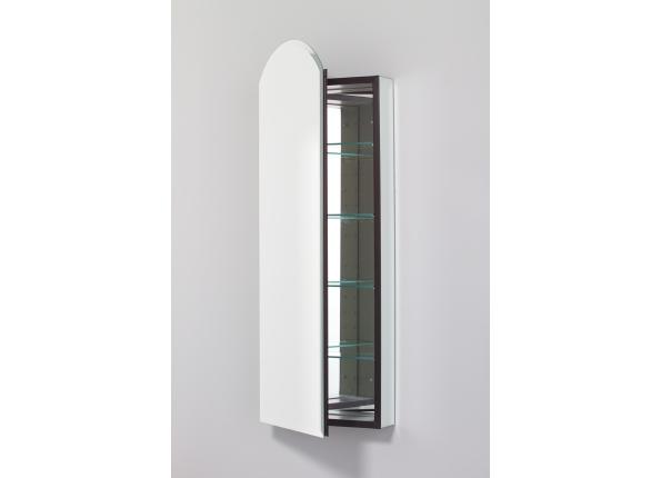 Arch Beveled Mirror Cabinet
