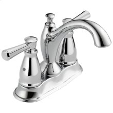 Chrome Traditional Two Handle Centerset Bathroom Faucet