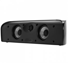 Compact center channel speaker in Black