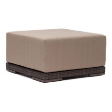 Park Island Ottoman Brown Product Image