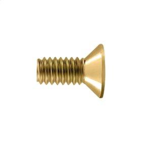 """Machine Screw, SB, #12 x 1/2"""" - PVD Polished Brass"""