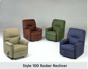 Radar Brown 100RCL - Rocker Recliner Product Image
