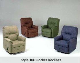 Radar Brown 100RCL - Rocker Recliner
