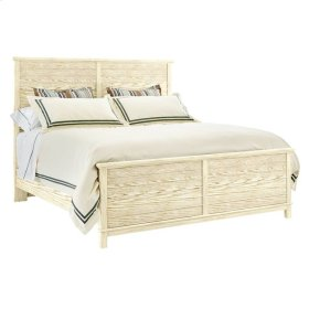 Coastal Living Resort - Cape Comber Panel Bed In Sail Cloth - Queen