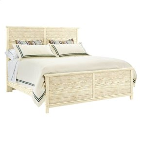 Coastal Living Resort - Cape Comber Panel Bed In Sail Cloth - King