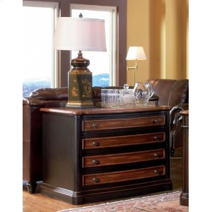 CoasterGorman Espresso File Cabinet