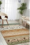 Contour Con10 Gre Rectangle Rug 3'6'' X 5'6''
