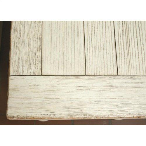 Aberdeen - Bench - Weathered Worn White Finish
